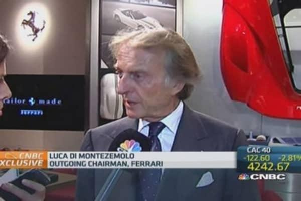 Di Montezemolo on his time at Ferrari