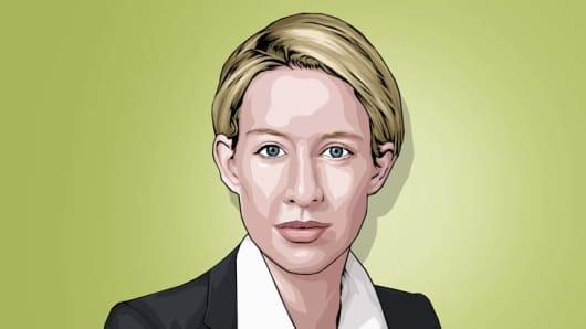 Elizabeth Holmes CNBC Next 25