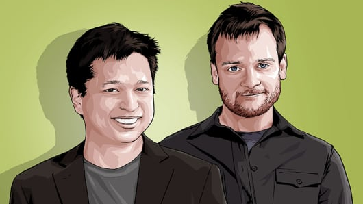 Evan Sharp & Ben Silbermann CNBC Next 25