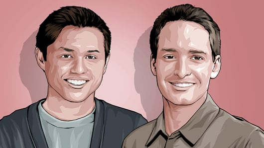 Evan Spiegel & Bobby Murphy CNBC Next 25