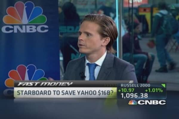 Starboard to save Yahoo billions?