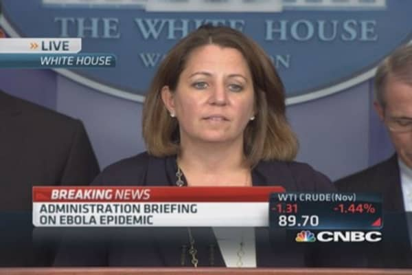 White House: US prepared to deal with Ebola crisis