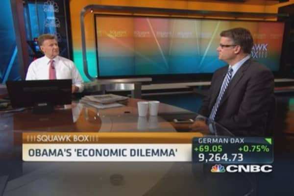 President Obama's 'economic dilemma'
