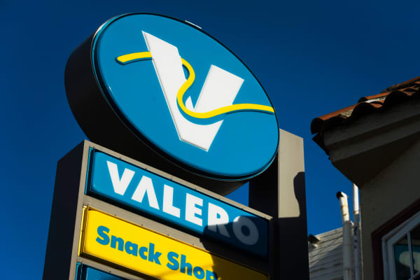 A Valero Energy gas station in San Francisco.