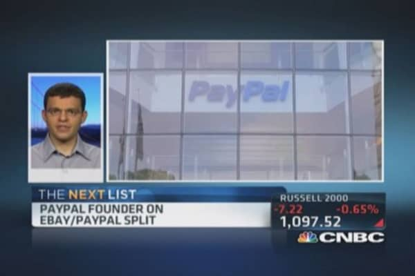 Levchin: PayPal given a second chance