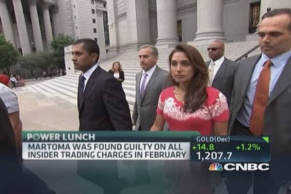 Martoma's wife speaks out