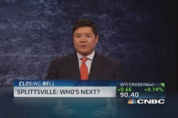 Splittsville: Who's next?