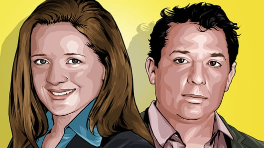 Shannon May and Jay Kimmelman