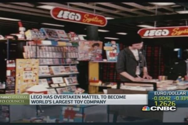 Kids still want to play with Lego despite tech: CFO