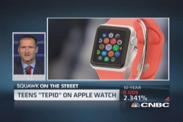 Teens tepid on Apple Watch: Pro