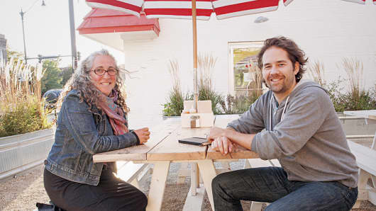 Morsel founders Ellen Malloy and Kris Petersen