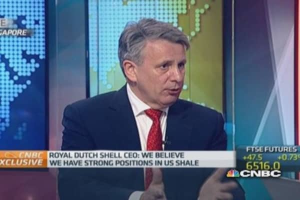 Oil price will be 'robust' in long-term: Shell CEO