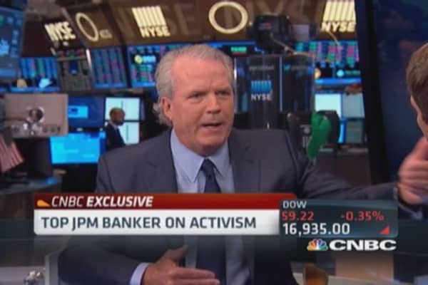Jimmy Lee: Activism important to M&A
