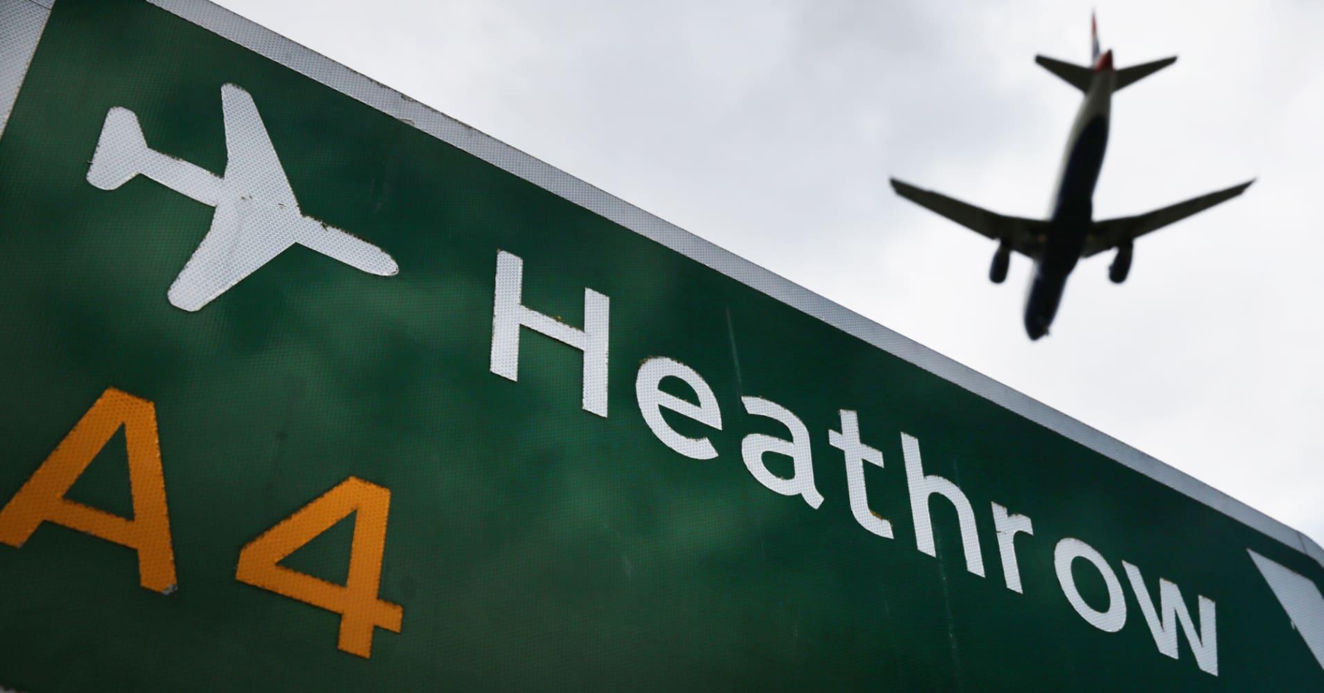 Britain's Heathrow says BA to run full flight schedule on Tuesday