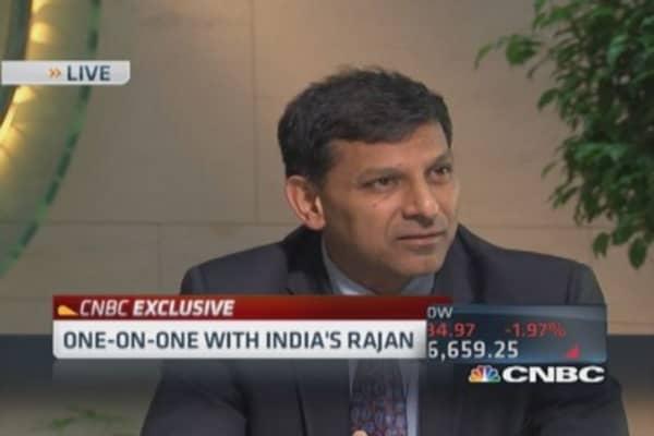 Indian's Rajan: World economy not picking up