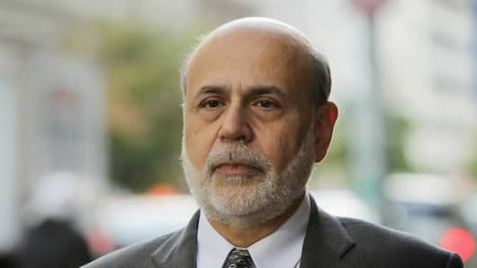 Former Chairman of the Federal Reserve Ben Bernanke.