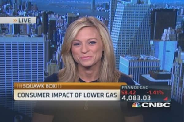 Lower gas, holiday sales boost?