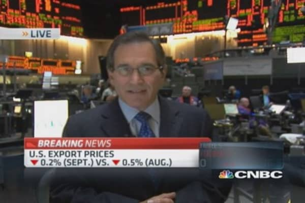 US import prices drop