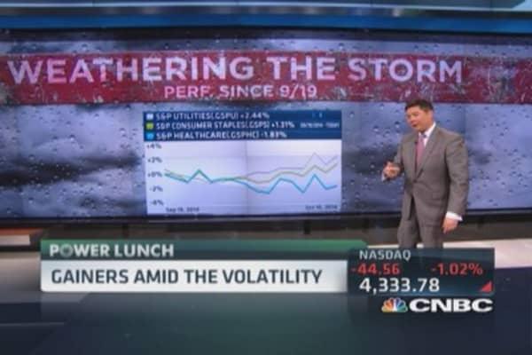 S&P gainers since peak