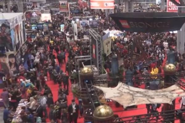 The business of New York Comic Con 2014