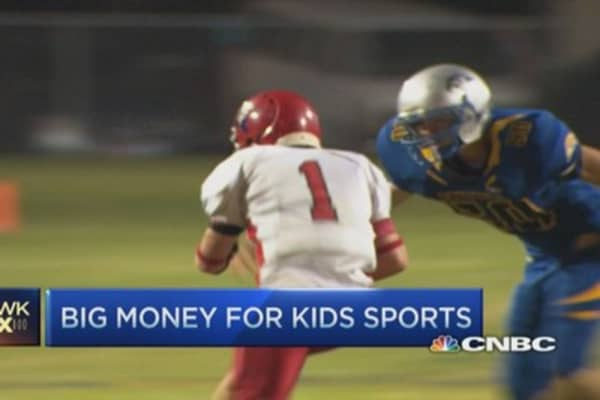 Big money for kids sports
