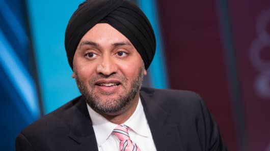Hardeep Walia, co-founder and CEO of Motif Investing
