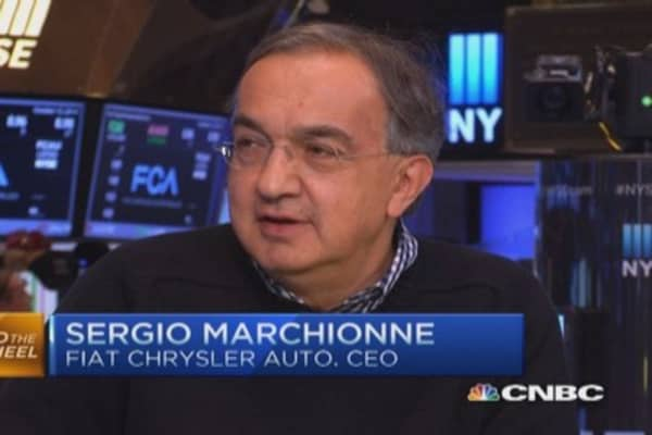 CEO: Great day for Fiat Chrysler Automobiles