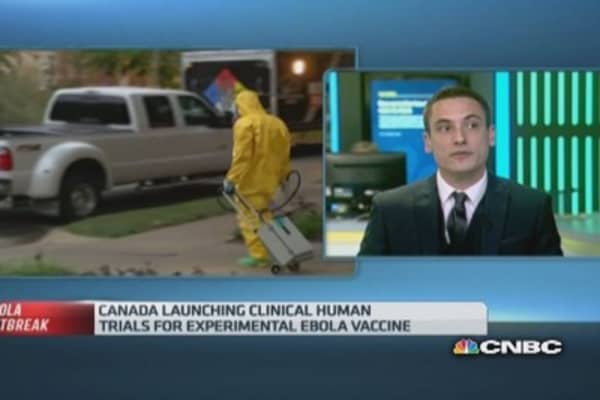 Hard to tell if Ebola vaccine works: Pro