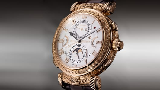 Patek Philippe's Grandmaster Chime watch.