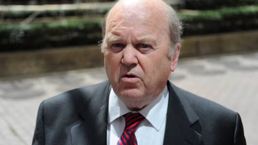 Michael Noonan, Ireland's Finance Minister
