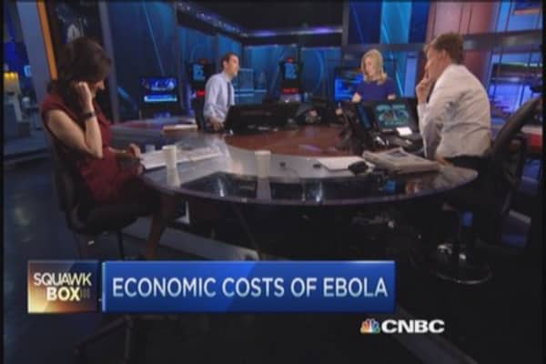 How much Ebola costs the world economy