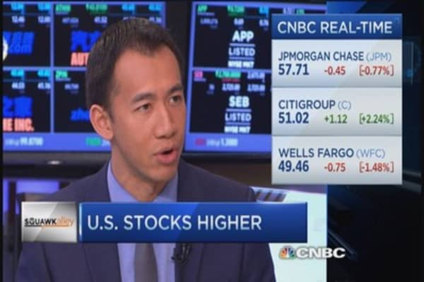 Volatility about fear not fundamentals: Strategist