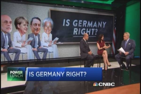 Deflation vs. inflation: Is Germany right?