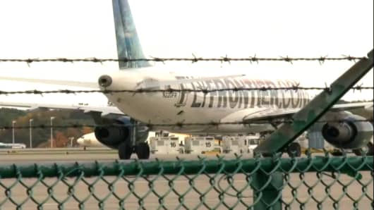 The second health-care worker who tested positive for Ebola flew on a Frontier Airlines flight the day before she reported symptoms.
