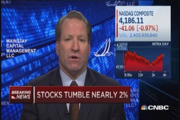 Ebola worries Wall Street