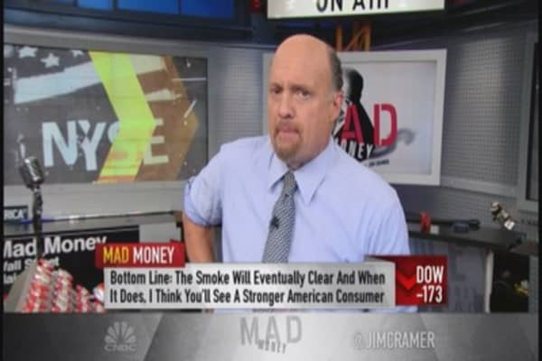 Cramer: Near-term havoc vs. long-term opportunities
