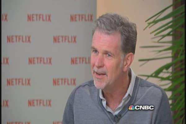Netflix CEO Hastings: Think price increase hurt