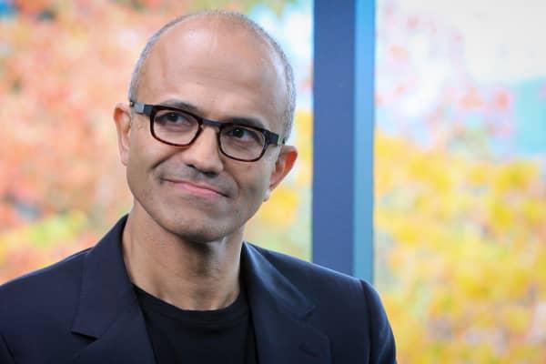Satya Nadella, CEO of Microsoft Corp.