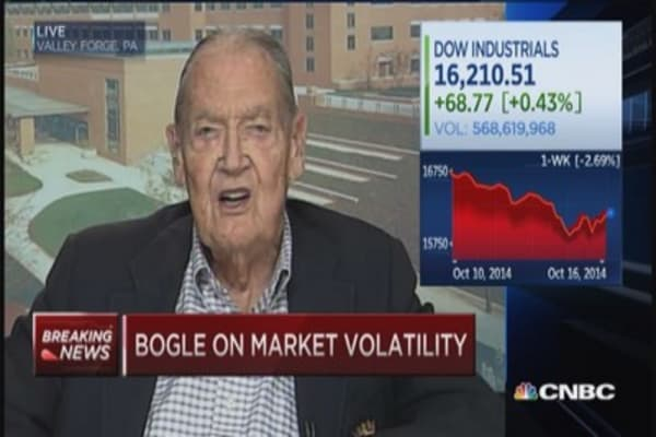 Jack Bogle: Not a bubble