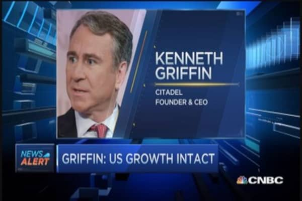 Ken Griffin's optimistic view