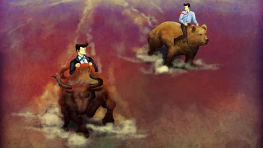 market volatility bull bear markets