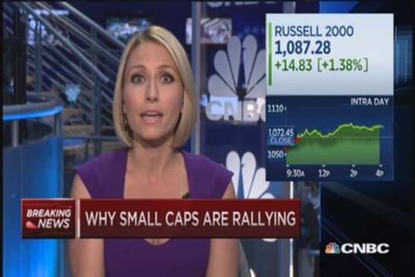 Why small caps are rallying