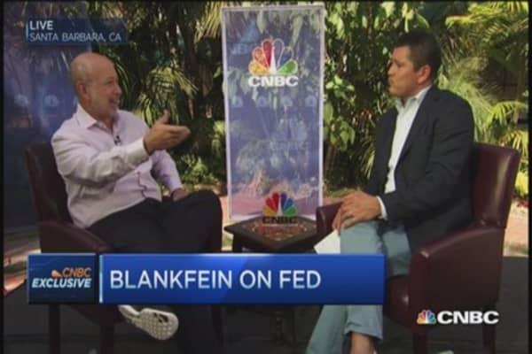 Goldman Sachs CEO: Europe deflation concern