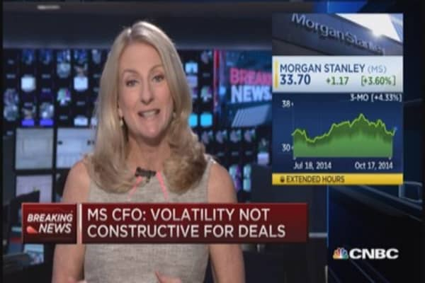 Morgan Stanley CFO: Investment banking backlog strong