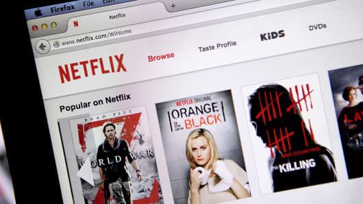 Netflix website