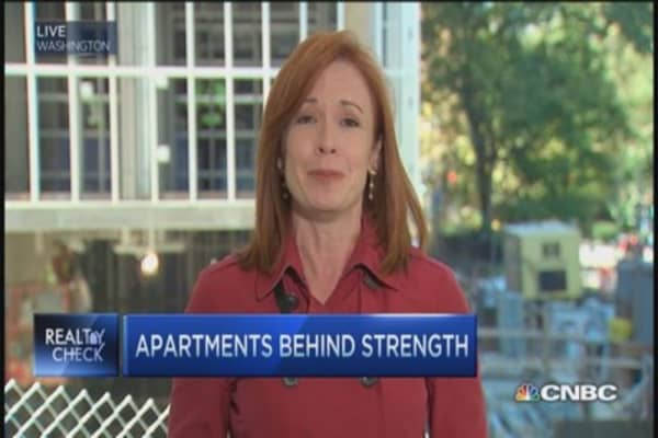 Banks betting on apartment market?