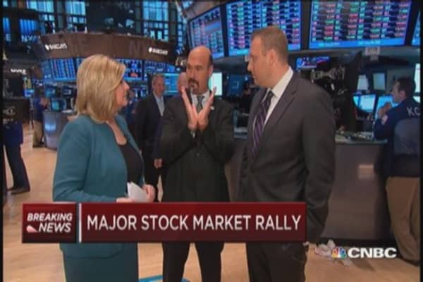 Be wary of rally, traders say