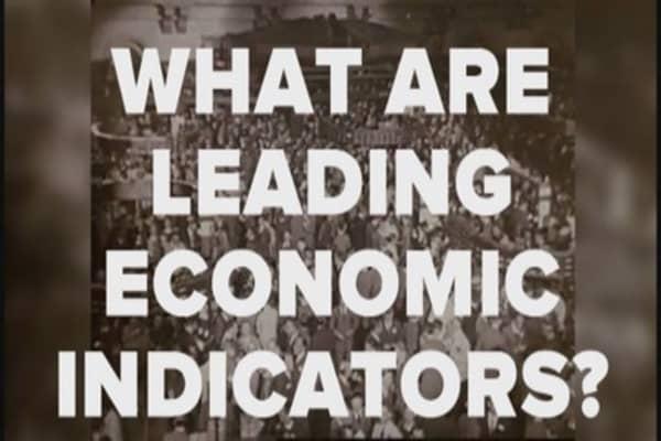 What are leading economic indicators?