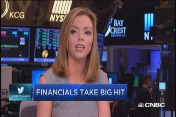 Banks take big hit?