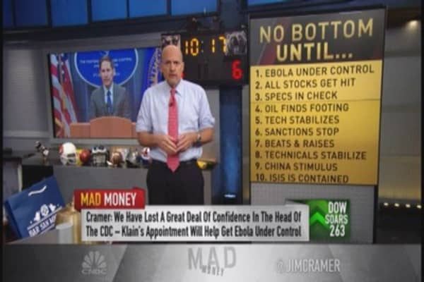 Cramer: We have an investable bottom